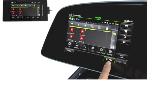 Smartphone-Funktionen kommen ins Auto-Cockpit