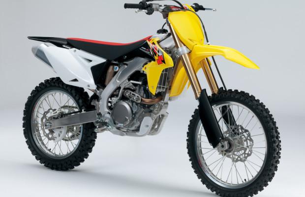 Suzuki überarbeitet seine Motocross-Modelle