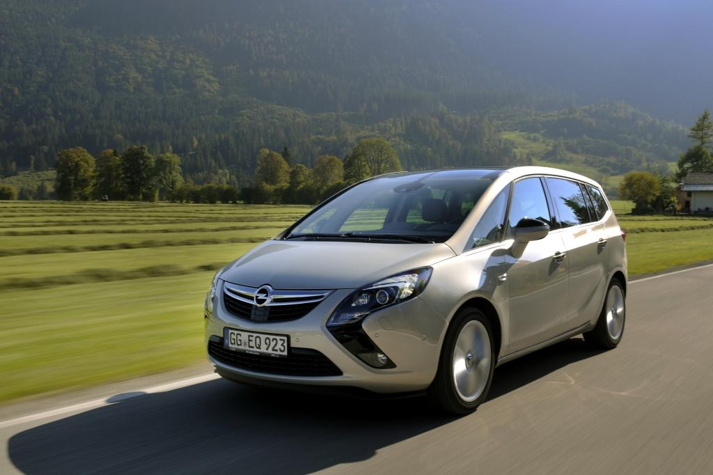 Test: Opel Zafira Tourer 2.0 CDTI Automatik - Für die radfahrende Familie