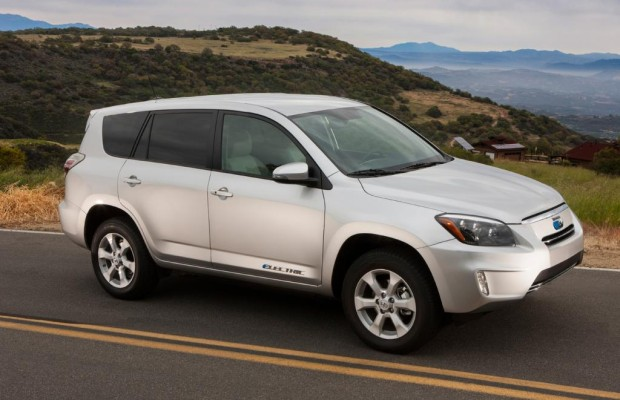 Toyota RAV 4 EV - Elektro-Power für das SUV