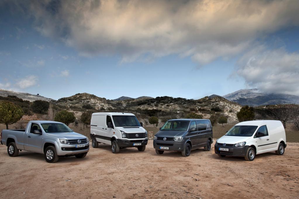 VW-Nutzfahrzeuge steigert Absatz um 3,7 Prozent