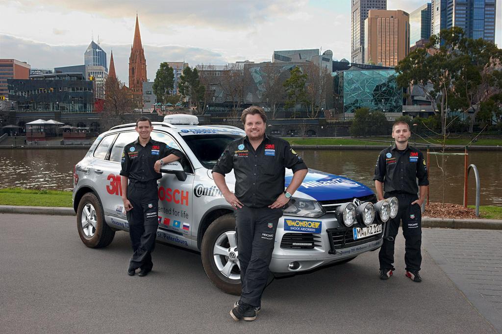 VW Touareg: Start zu neuer Weltrekordtour