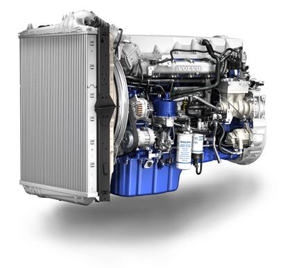 Volvo Trucks: Bestseller-Motor D13 im Volvo FH erfüllt Euro 6-Norm