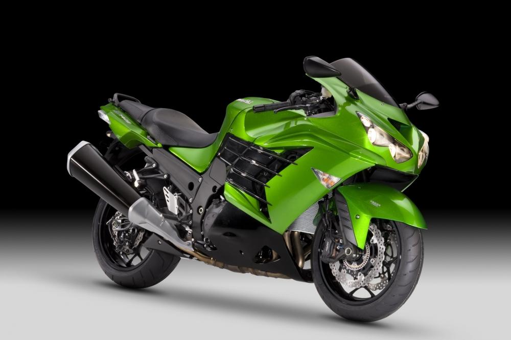 Wert auf PS-Potenz legt Kawasaki bei seinem Sporttourer ZZR 1400