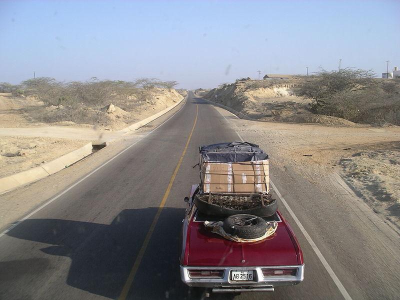 Zwischen Sullana und Talara in Peru - Bild: Wikipedia