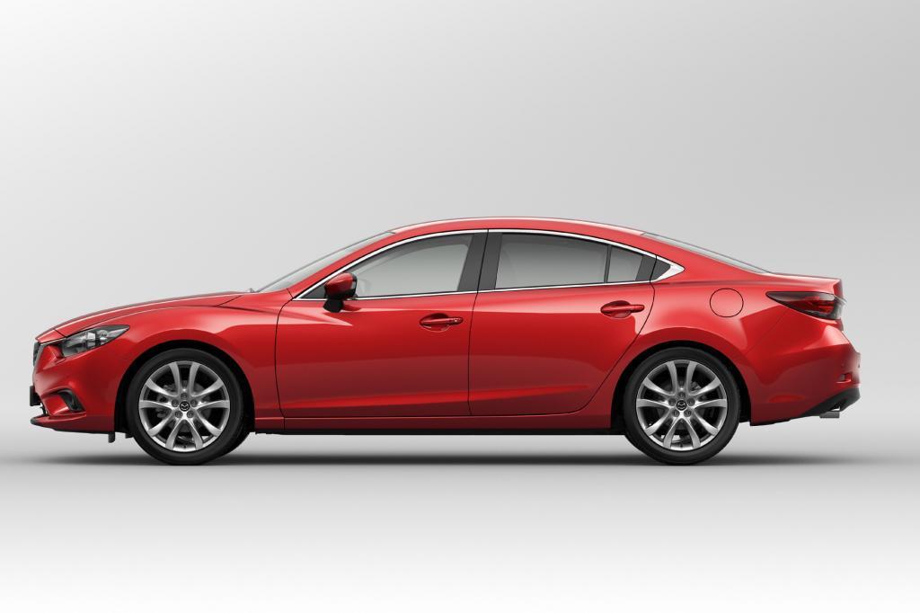 Mit einem Festakt wird der Mazda6 am Vorabend des Moscow International Auto Salon enthüllt