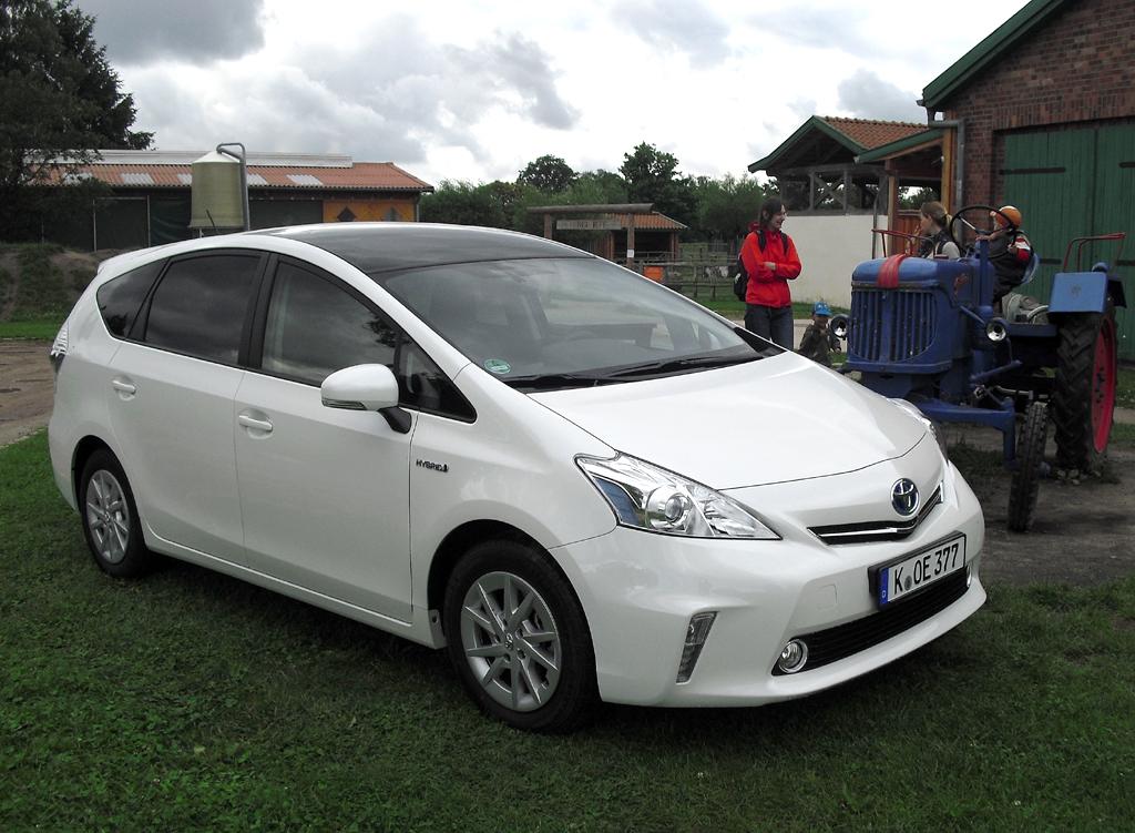 … Toyota Prius+ und ab Herbst ...