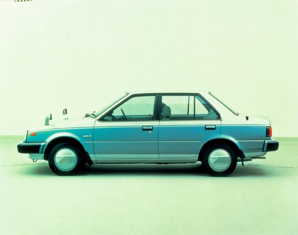 40 Jahre Nissan-Deutschland: Nissan President seit 1971 mit ABS