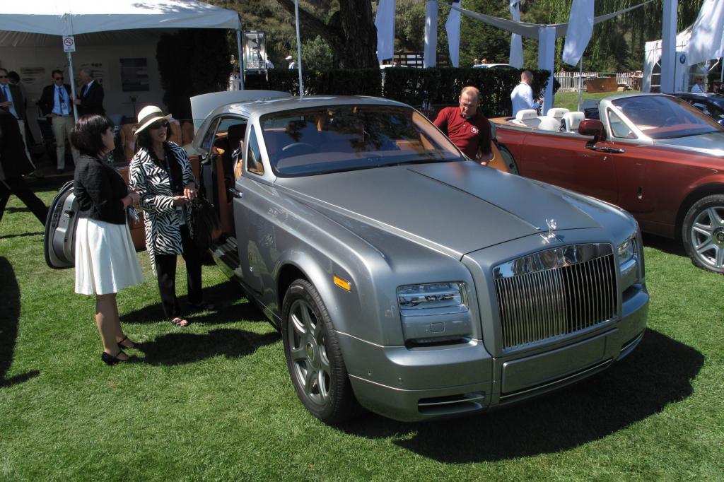 Auch Rolls-Royce ist in Pebble Beach prominent vertreten