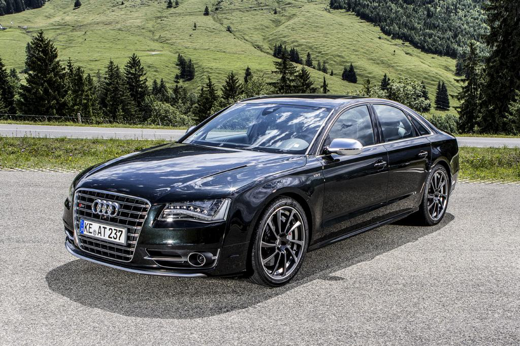 Audi Abt S8 - Sportler im Smoking