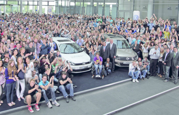 Ausbildungsrekord bei Volkswagen