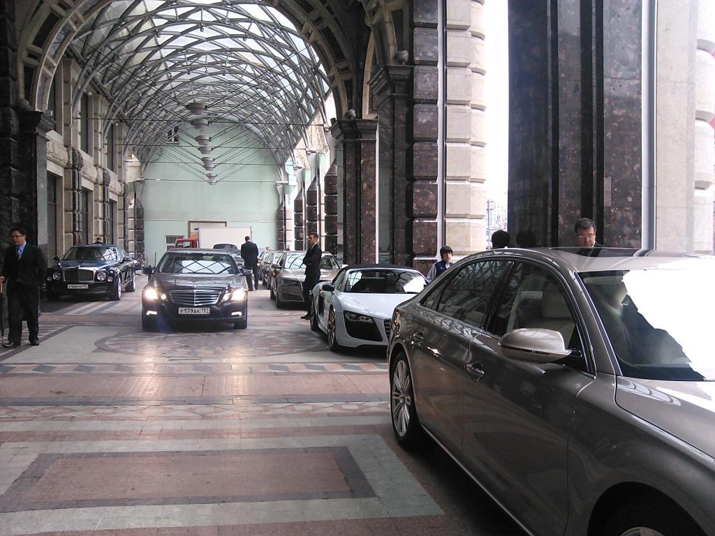 Autos für Russland - Go East