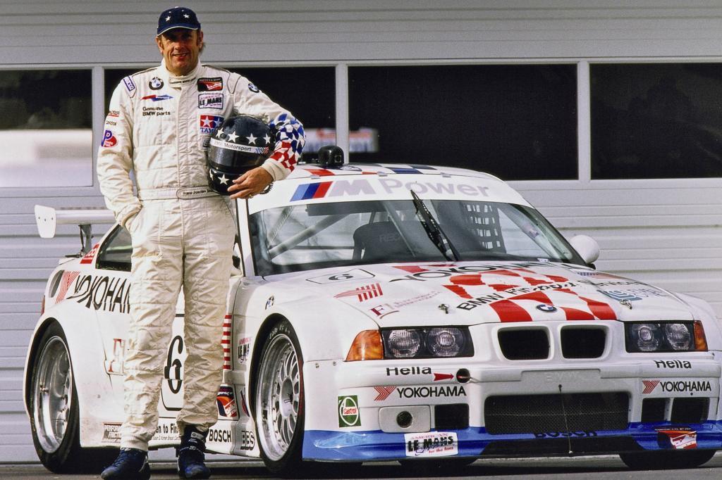 BMW M3 IMSA Fahrer HansJoachim Stuck 1995