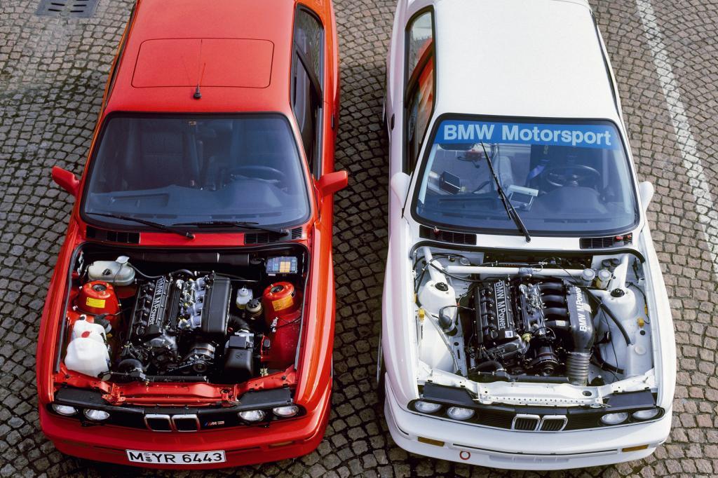 BMW M3 Straßen und Rennversion 1987