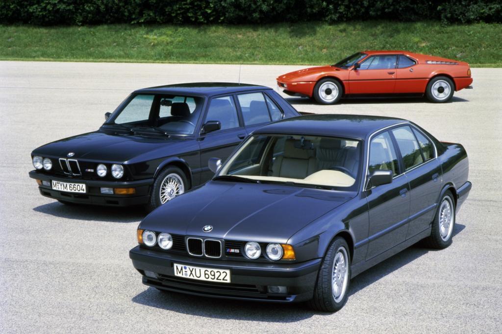 BMW M5 ab 1985 und M5 ab 1988 und M1 ab 1978