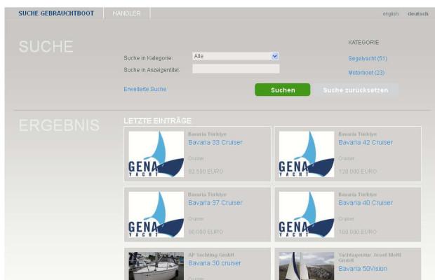 Bavaria startet mit Börse für Gebrauchtboote