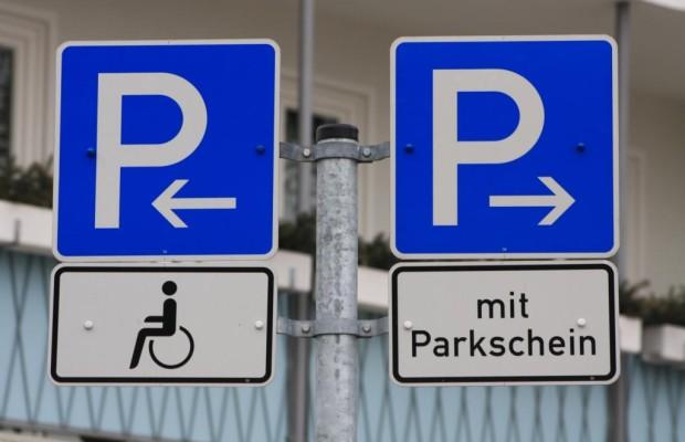 Behindertenparkplatz - Schwierigkeiten bei Aussteigen reichen nicht