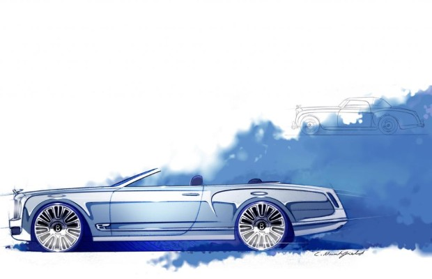 Bentley Mulsanne Convertible Concept - Offener Luxus