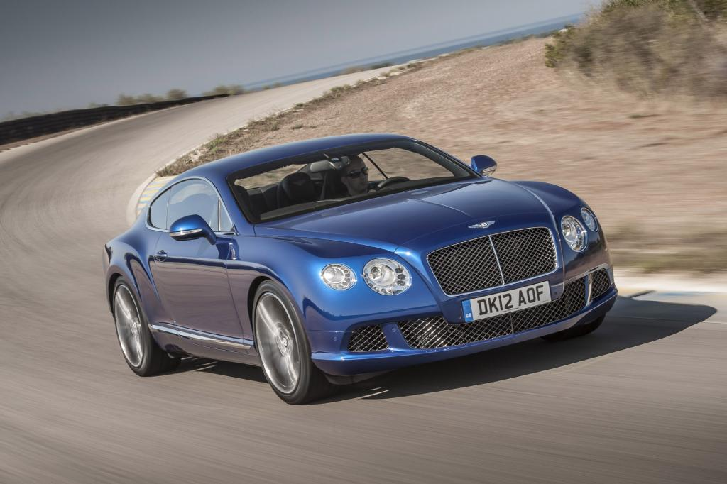 Bentley stellt in Moskau den Continental GT Speed vor