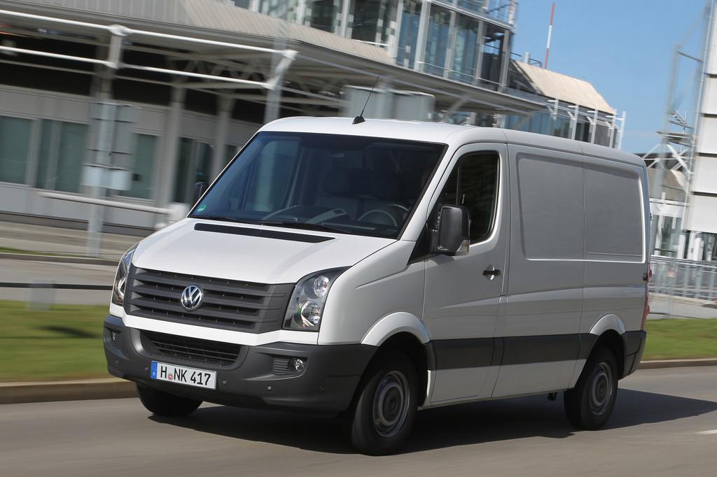 Bundesweite ECO-Fahrtrainings für Crafter-Fahrer