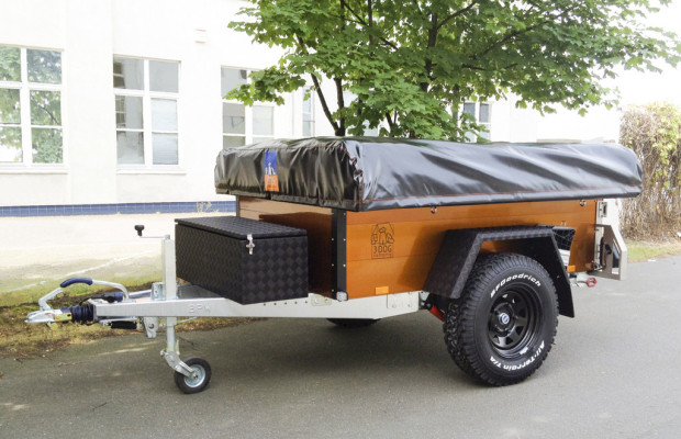 Caravan-Salon 2012: 3Dog Camping zeigt Offroader in Orange