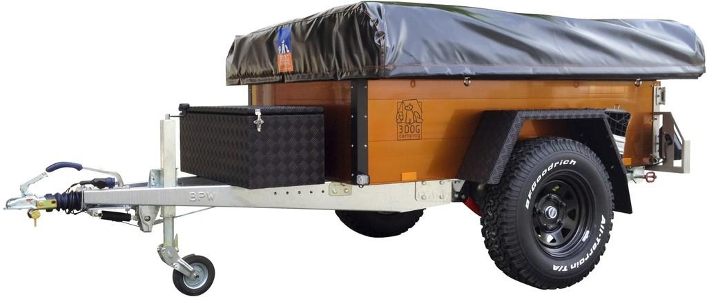 Caravan-Salon 2012: 3Dog Camping zeigt Offroader in Orange