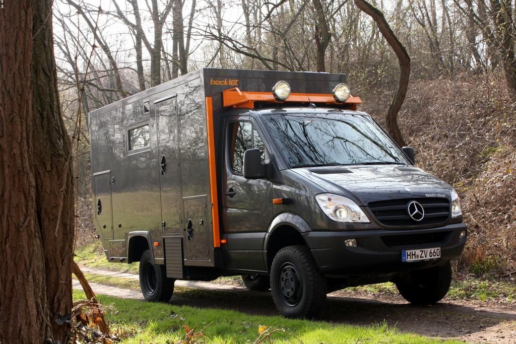 Caravan-Salon 2012: Bocklet präsentiert Dakar 650 auf Sprinter-Basis