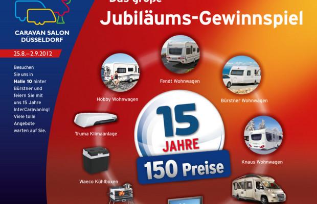 Caravan-Salon 2012: Intercaravaning feiert Geburtstag