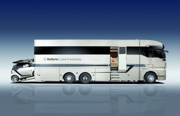 Caravan Salon 2012: Ketterer Continental - Zweites Eigenheim auf Rädern