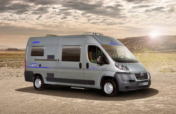 Caravan-Salon 2012: Mehrere Kompaktreisemobile auf Citroën-Basis