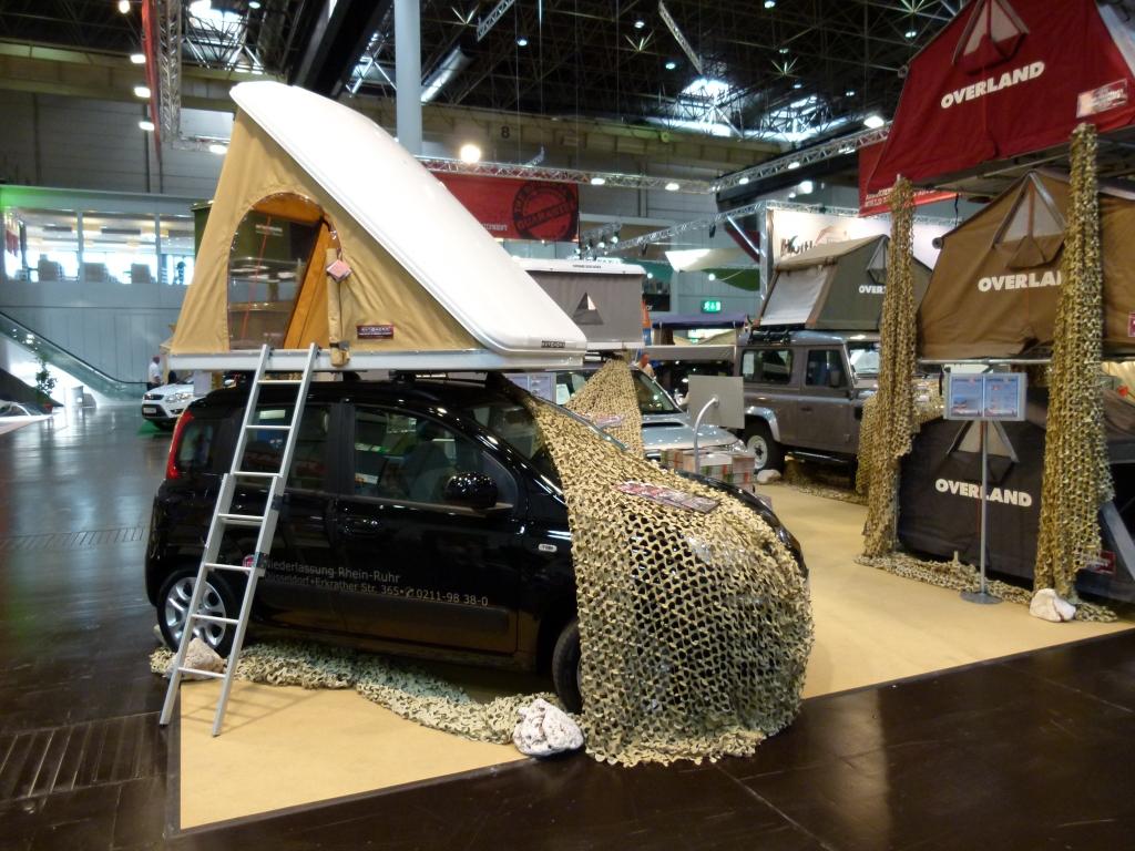 Caravan-Salon 2012: Zubehör und Technik