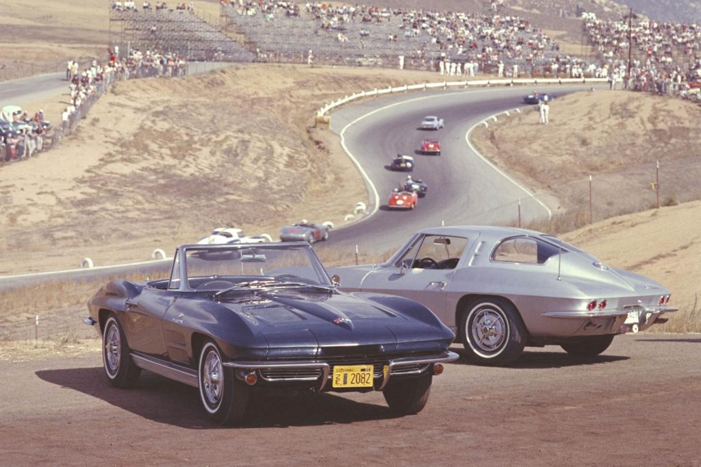 Chevrolet Corvette Sting Ray Convertible und Coupe 1963