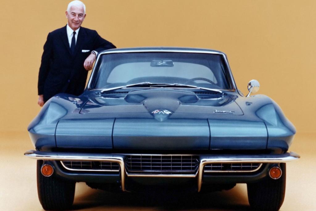 Chevrolet Corvette Sting Ray mit Zora Duntov  1966
