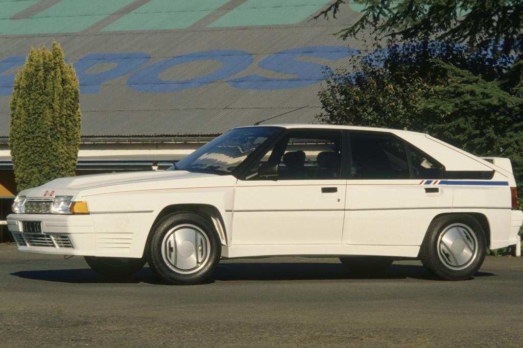 Citroen beim BX ab 1989 mit Allradantrieb