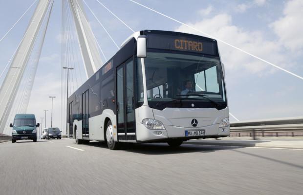 Daimler Buses liefert über 150 Omnibusse an Deutsche Bahn