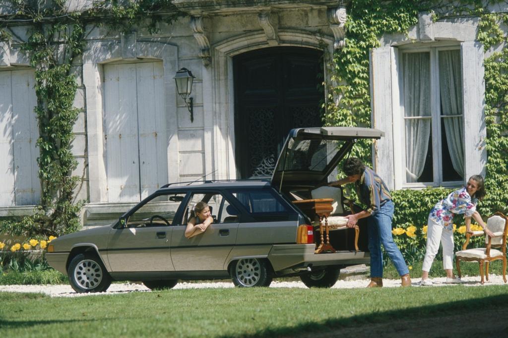 Das Designkonzept für den BX konnte Bertone erst im dritten Anlauf verkaufen