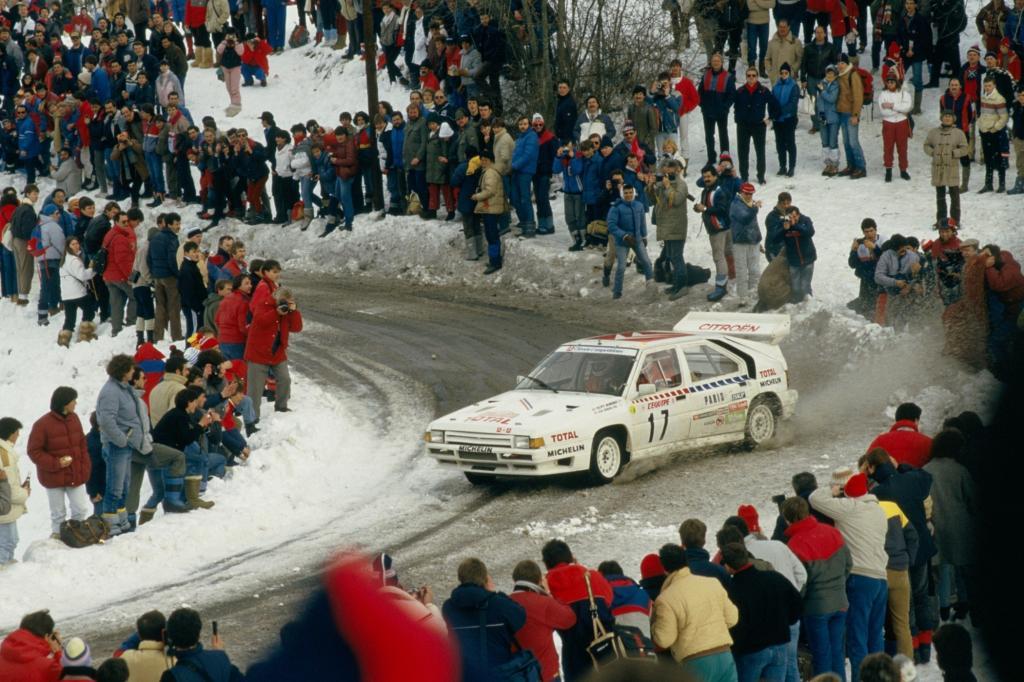 Der BX 4TC sollte die wilden Reiter der legendären Gruppe-B-Rallye-Division einfangen