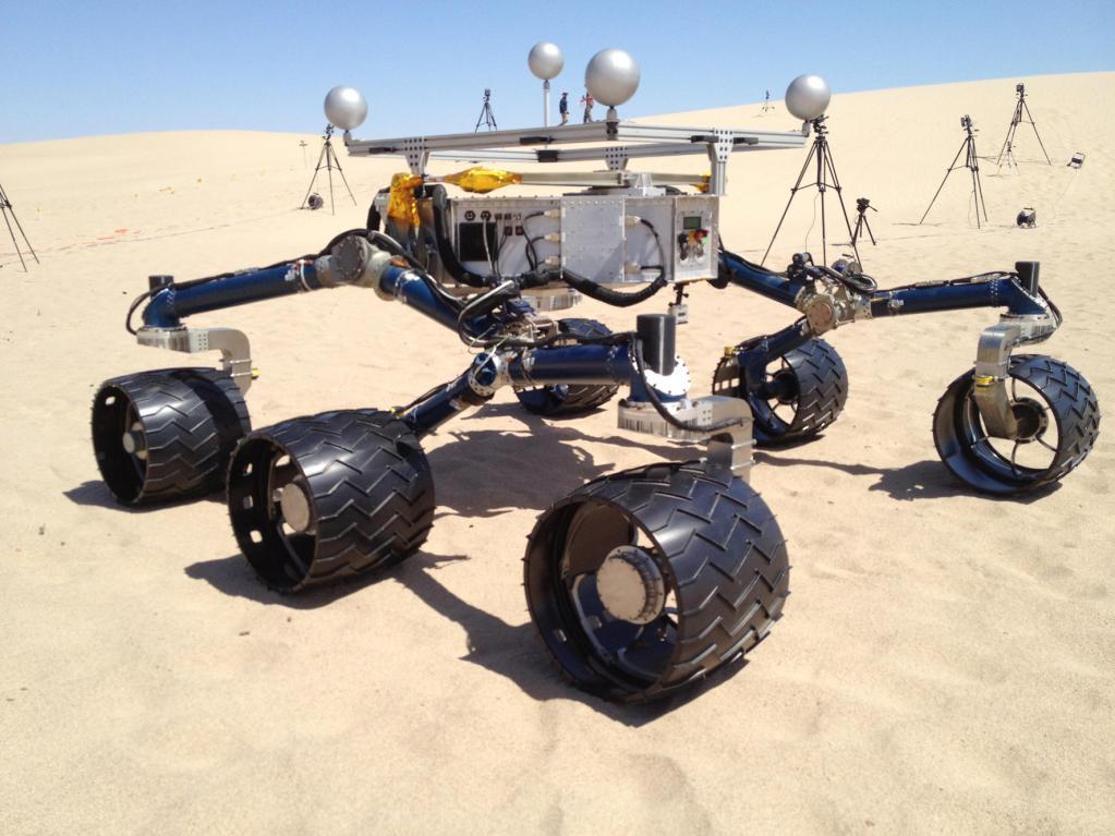Der Mars macht mobil