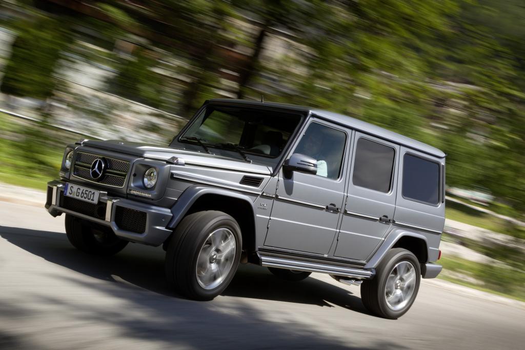 Der Mercedes G gehört zu den traditionsreichsten Offroadern