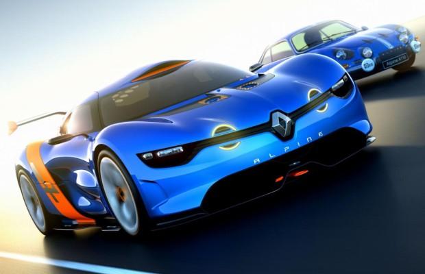 Der Renault Alpine könnte als Serienfahrzeug zurück kehren