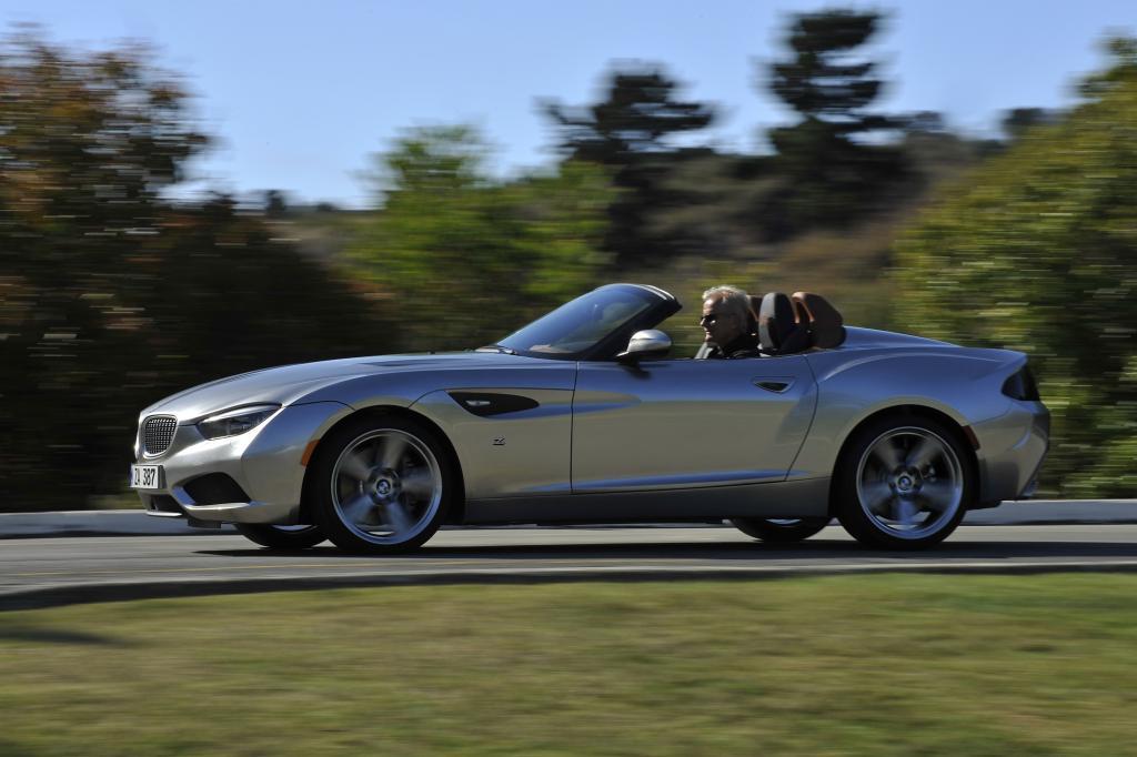 Der Zagato Roadster ist die offene Version des Zagto Coupe