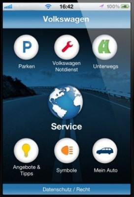 Die neue Volkswagen Service App