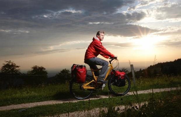 Drei-Sterne-Trasse für Rad-Touristen