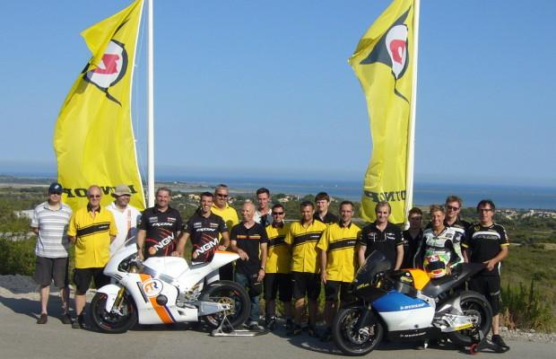 Dunlop bereitet Moto2-Saison 2013 vor