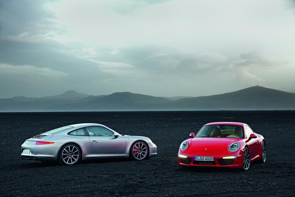 Ein Porsche 911 kann auch auf Familie