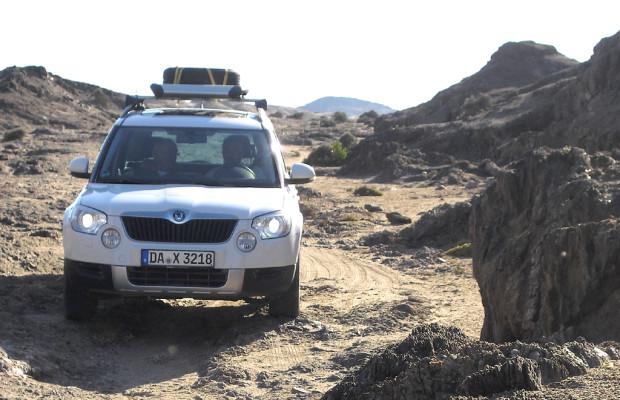 Ein Yeti in Afrika (I): Das Auto - mit Skodas Kompakt-SUV durch Namibia