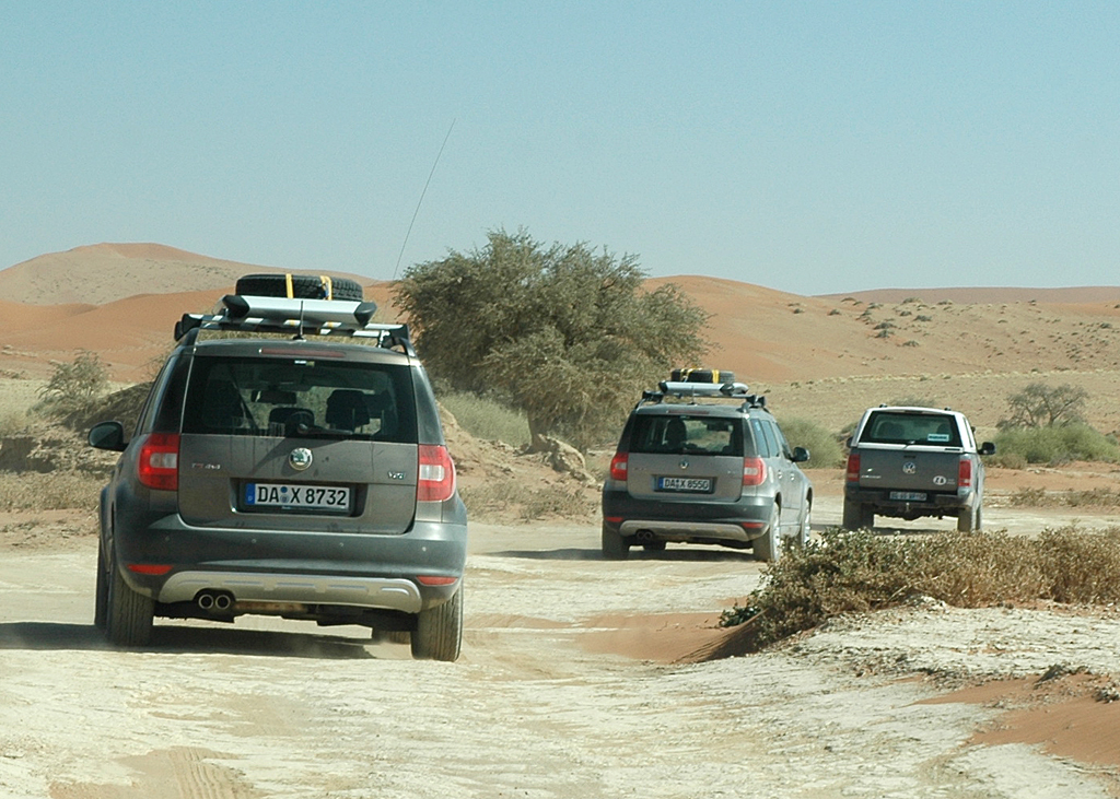 Ein Yeti in Afrika (II): Das Land der Dünen - mit Skodas Kompakt-SUV durch Namibia