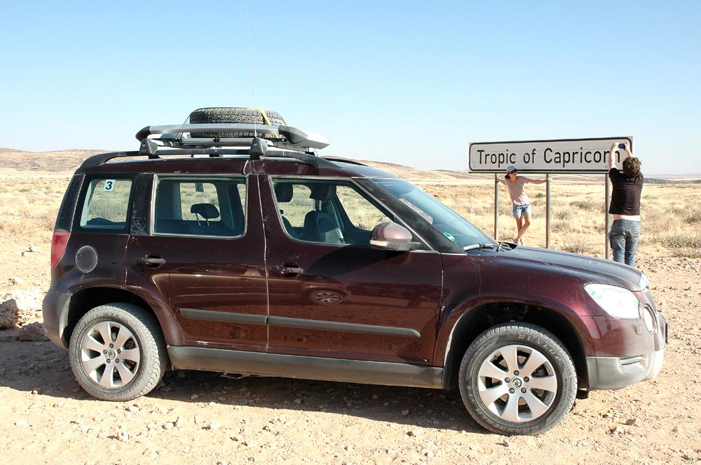 Ein Yeti in Afrika (III): Nach Swakopmund - mit Škodas Kompakt-SUV durch Namibia
