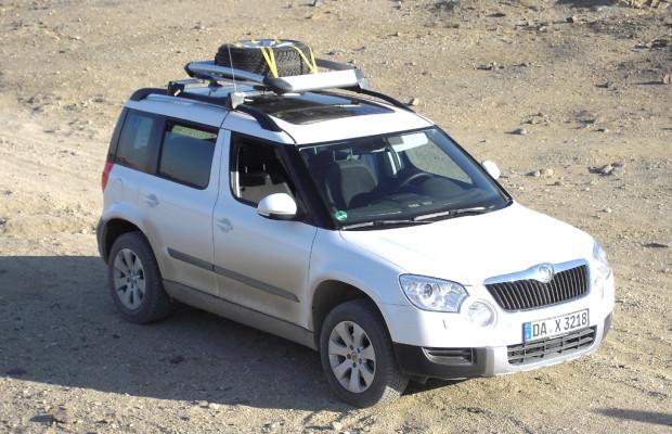 Ein Yeti in Afrika (IV): Wildlife am Mount Etjo - mit Skodas Kompakt-SUV durch Namibia