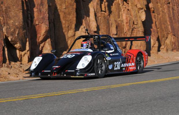 Elektro-Toyota siegt am Pikes Peak